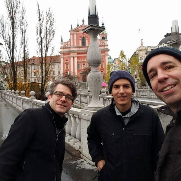 Back in Ljubljana, Slovenia
