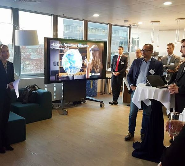 Inauguration of Co-Working at Microsoft Schweiz