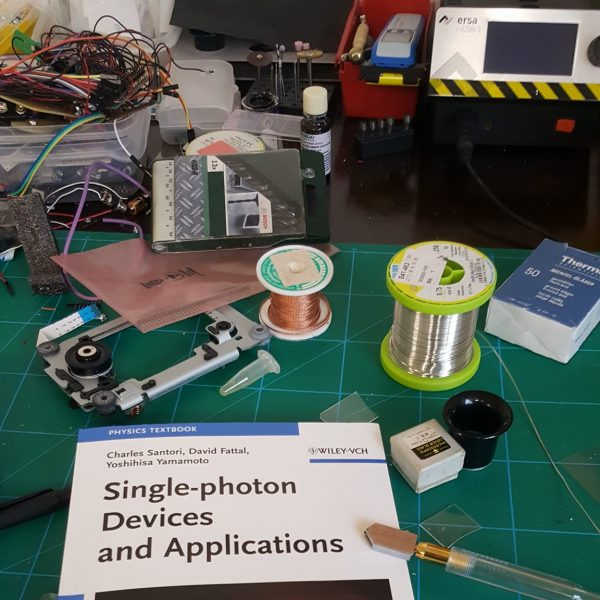 I want to build a DIY Single Photon Generator