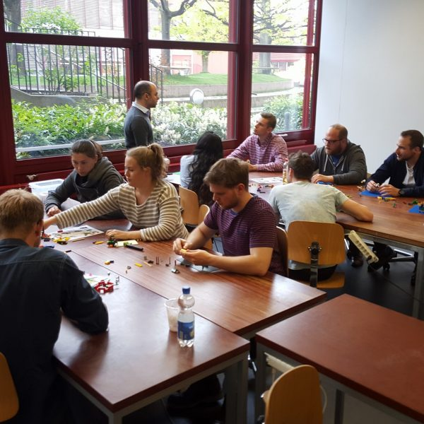 LEGO serious play workshop by Giuseppe Blasi at Lucerne University