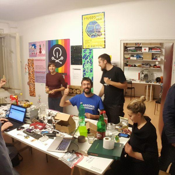 Radiona workshop, Symposium and city live in Zagreb