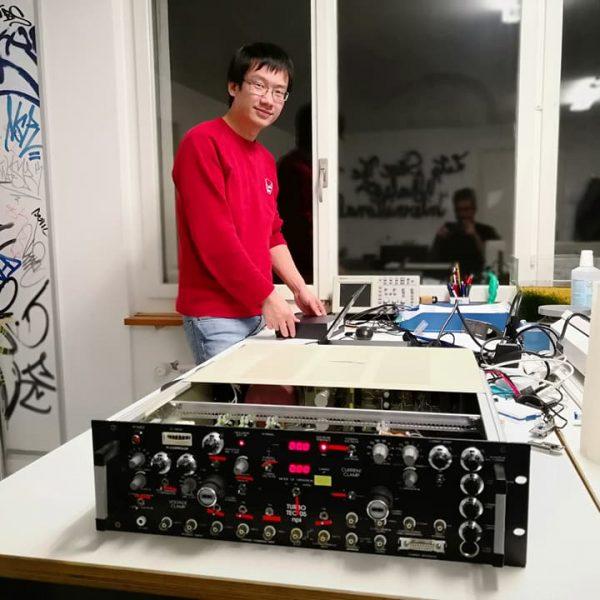 Scientific hardware hacking session