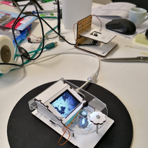 Working prototype of the DashCam-Microscope