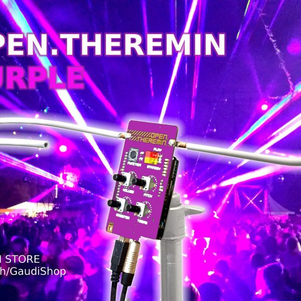 OpenTheremin Purple – the New Star in the GaudiShop
