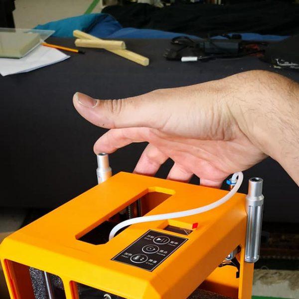 Got a new tiny 3D printer, the CR-100