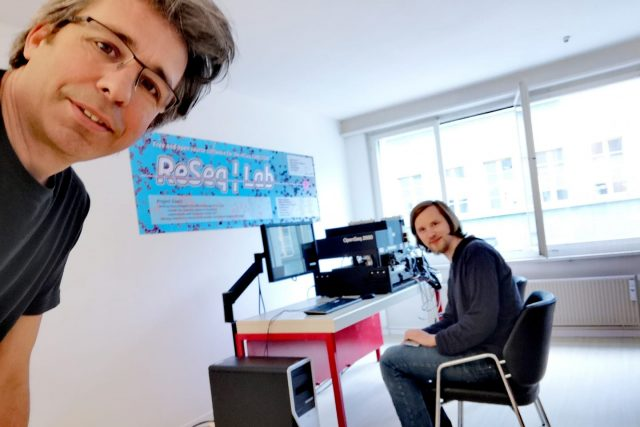 Kick-Off of the ReSeq open software developement in the all new ReSeq Lab